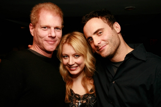 Noah Emmerich, Jennifer Mudge and Dominic Fumusa