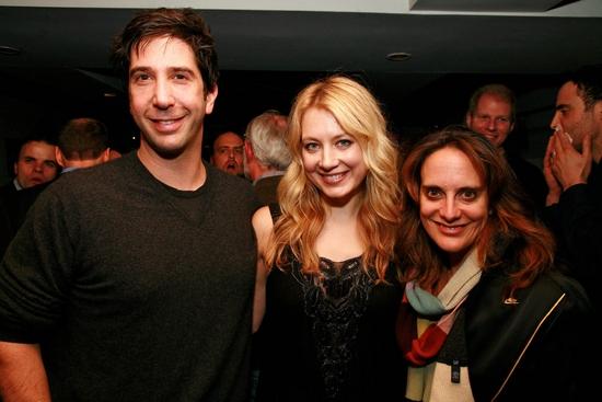 David Schwimmer, Jennifer Mudge and Liz Tuccillo