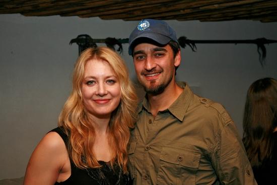 Jennifer Mudge and Donnie Keshawarz