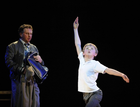 Photo Flash: Brad Wilson Joins BILLY ELLIOT THE MUSICAL