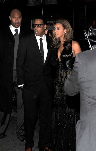 Jay-Z and Beyonce Knowles Photo