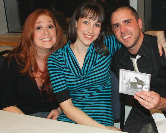 Katie Thompson, Natalie Weiss, and Scott Alan
