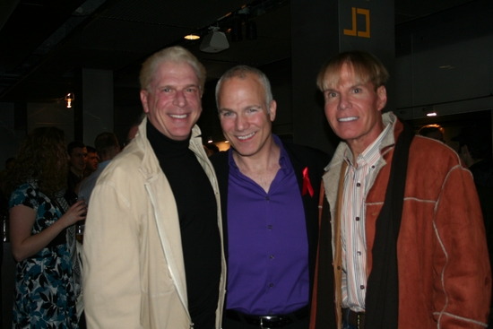 Ron Abel, Franc D'Ambrosio and Chuck Steffan