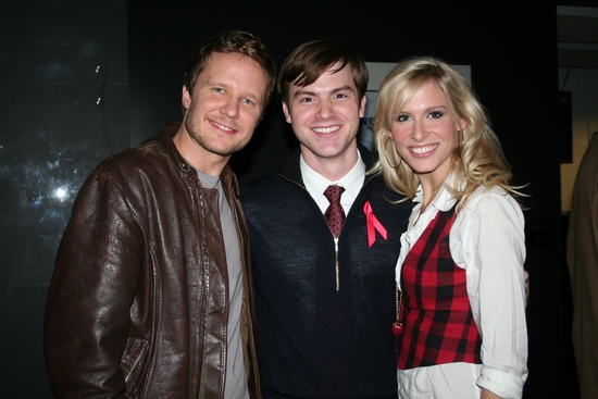 Will Chase, Pearce Wegener and Stephanie Gibson
