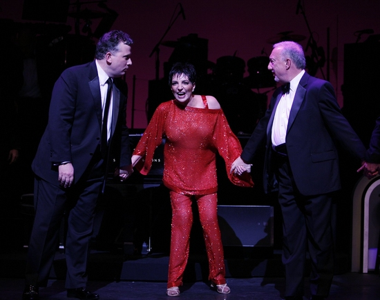 Billy Stritch, Liza Minnelli and Michael Berkowitz