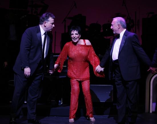 Billy Stritch, Liza Minnelli and Michael Berkowitz