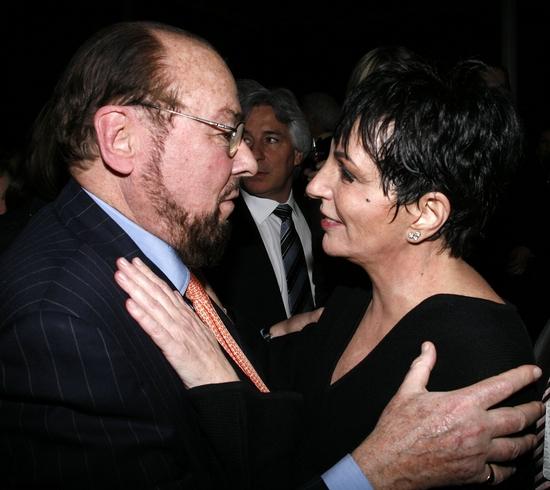 James Lipton and Liza Minnelli