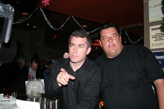 Jason Jones (The Daily Show) and Steven Shirripa