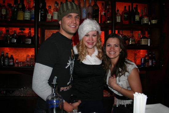 John Brotherton, Caitlin Van Zandt and Melissa Claire Egan