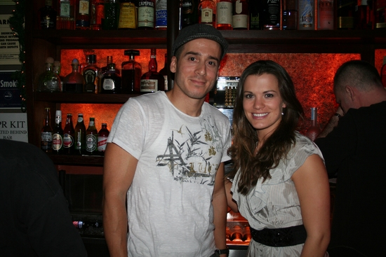 Kirk Acevedo (Fringe) and Melissa Claire Egan