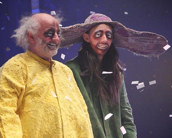 Slava Polunin and Ivan Polunin