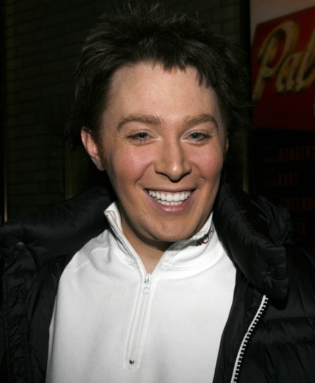 Photo Coverage: SPAMALOT'S Clay Aiken Makes A Fan's Birthday Extra Special