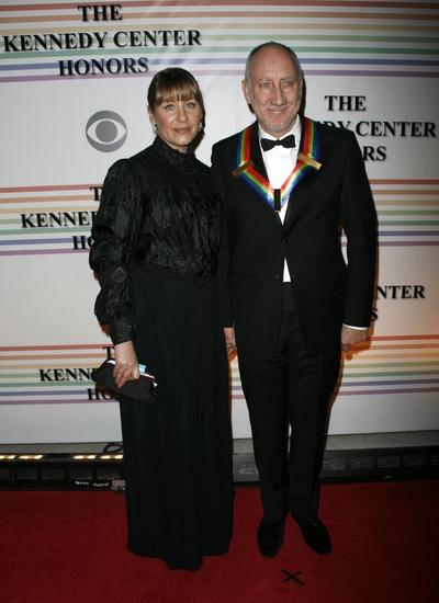 Pete Townsend and Rachel Fuller