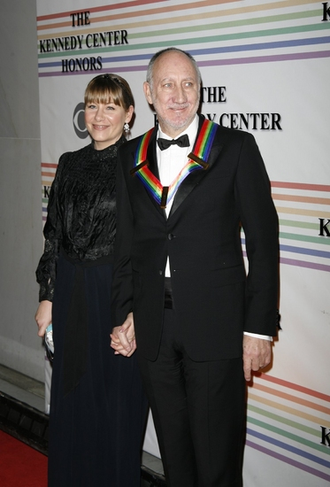 Pete Townsend and Rachel Fuller