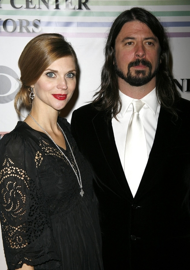 Jordyn Blum and Dave Grohl at Kennedy Center Attendees Part One