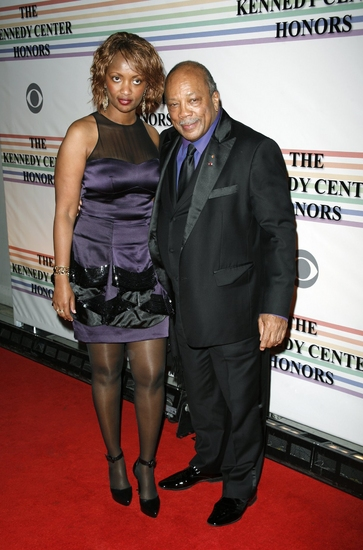 Quincy Jones and Guest at Kennedy Center Attendees Part One