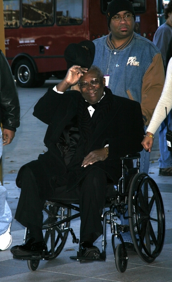 B.B. King at 2008 Kennedy Center Honors Rehearsals