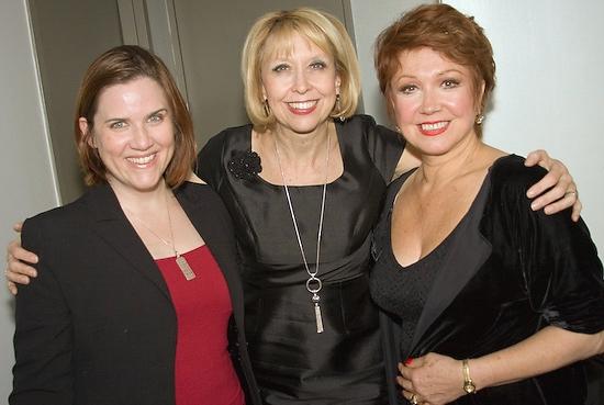 Donna Lynne Champlin, Julie Halston, and Donna McKechnie