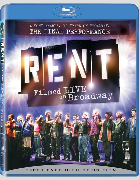 'RENT Filmed Live on Broadway' DVD/Blu-ray Cover Art Revealed