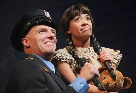 Don Richard and Jen Cody