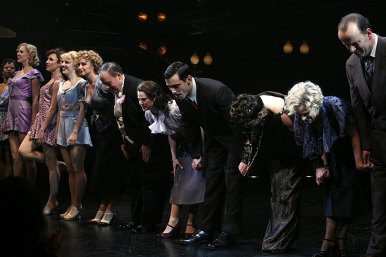 Photo Coverage: PAL JOEY Opening Celebration Curtain Call