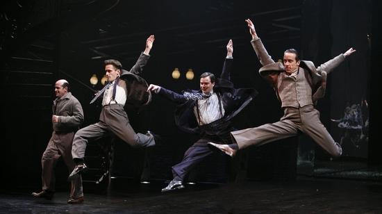 Mark Morettini, Eric Sciotto, Brian Barry and Timothy J. Alex
