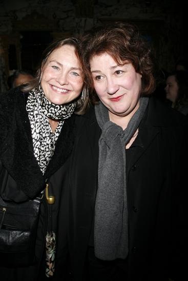 Cherry Jones and Margo Martindale
