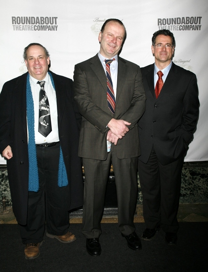 Daniel Marcus, Robert Clohessy and Steven Skybell