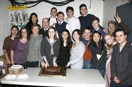 Photo Coverage: Broadway's SPRING AWAKENING Celebrates 2nd Year