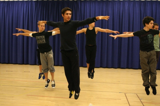Photo Flash: WEST SIDE STORY Cast in Rehearsal
