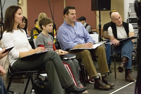 Marcia Mitzman, David Bologna, Jonathan Dokuchitz, and Paul Kandel Photo