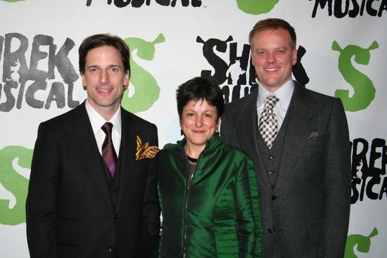 Bill Damaschke, Caro Newling and Jason Moore