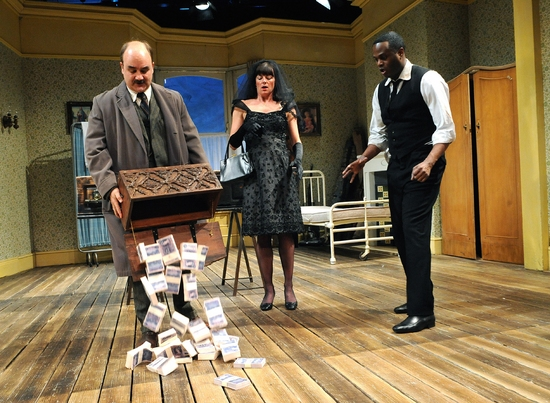 David Haig, Doon Mackichan & Javone Prince at LOOT At Tricycle Theatre