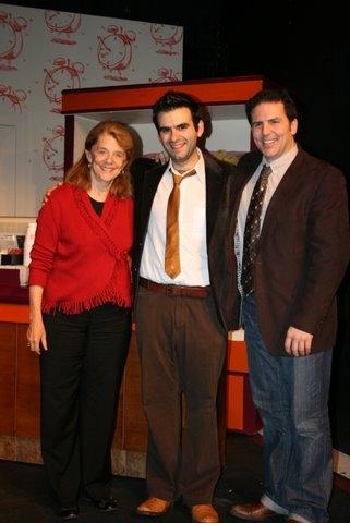 Frances Hill, Joe Iconis and John Simpkins