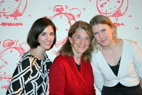Lauren Scmiedel, Frances Hill, and Rowenz Potts
