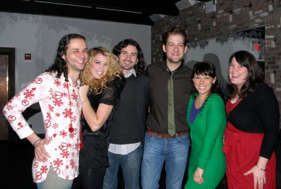 Cast of Hair-Anthony Helloa, Kacie Sheik, Paris Remillard, Andrew Kober,Allison Guinn, Lauren Elder