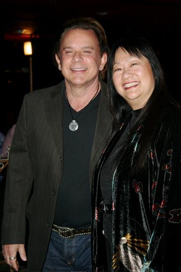 Lou Christie and May Pang