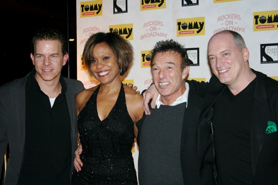 Christian Hoff, Cheryl Freeman, Wayne Cilento and Donnie Kehr at The Who's TOMMY: 15th Anniversary Benefit Concert