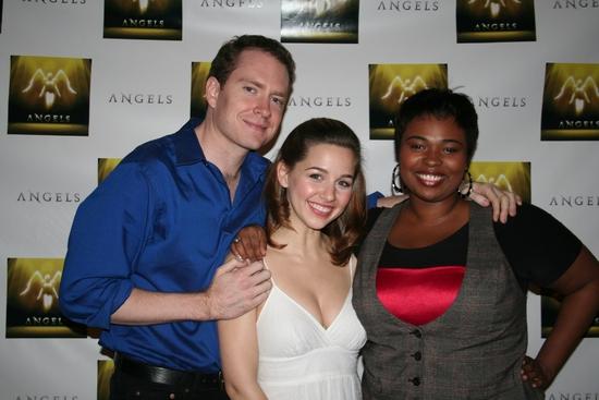 Adam Monley, Jessica Grové and Erica Jacob