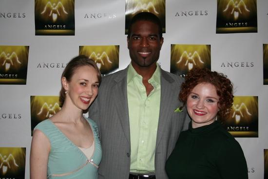 Beth Bright, Derrick Davis and Brittney Lee Hamilton