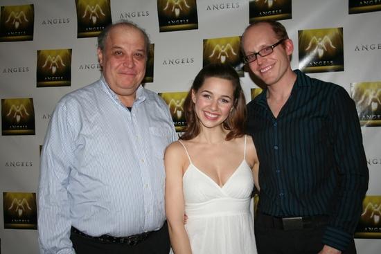Bernard Fox, Jessica Grové and Christopher D. Littlefield (Musical Director)