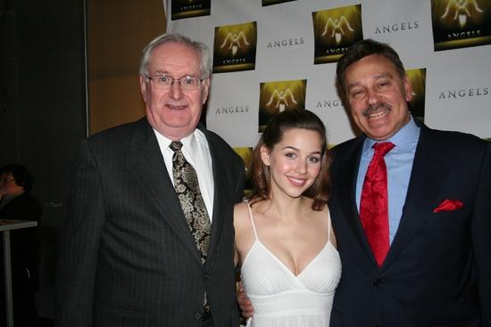 Dick Flavin, Jessica Grové and Paul Bogoshian