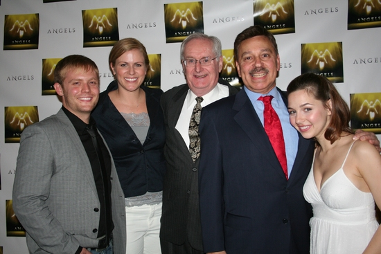 Frank Monteleone, Tamara Lovatt-Smith, Dick Flavin, Paul Bogoshian and Jessica Grové