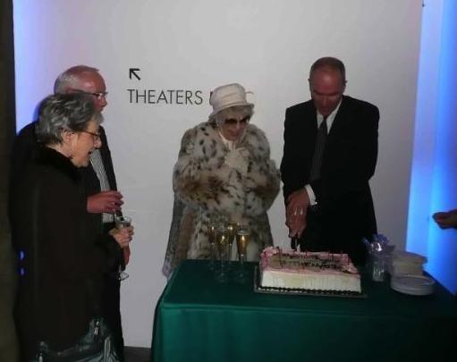 Elysabeth Kleinhans, Peter Tear, Elaine Stritch and Simon Green Photo