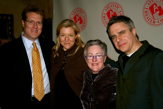 Jeffory Lawson, Mary McCann, Garry Hynes and Neil Pepe Photo