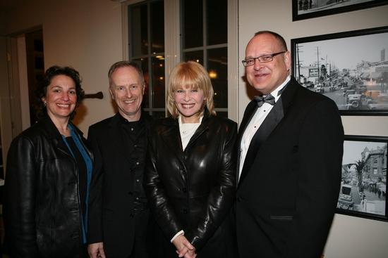 Dr. Iris Levine, Hywel Sims, Ilene Graff and Bruce Mayhall