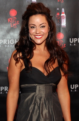 Katy Mixon at UPRIGHT CABARET's Holiday Blowout 2008