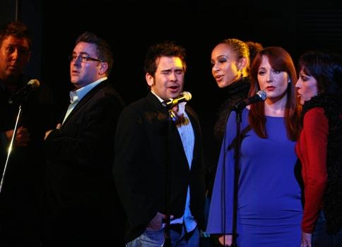 Danny Stiles, Brandon Alameda, Laura Dickinson and Jill Burke