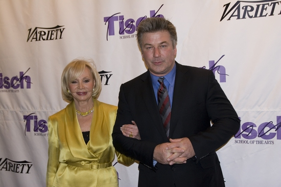 Iris Cantor and Alec Baldwin