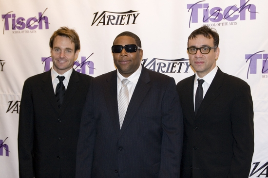 Will Forte, Kenan Thompson and Fred Armisen